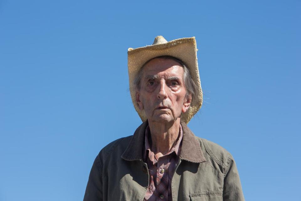 "Harry Dean Stanton in ""Lucky."""