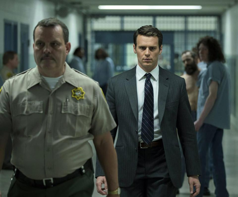 "Jonathan Groff in Netflix's ""Mindhunter."""