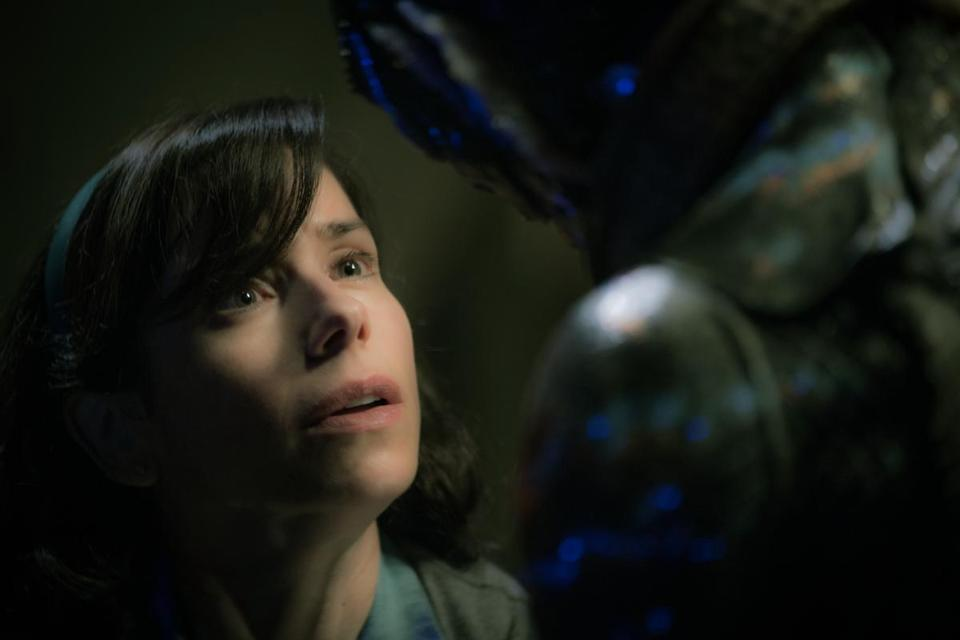 "Sally Hawkins in Guillermo del Toro's ""The Shape of Water."""