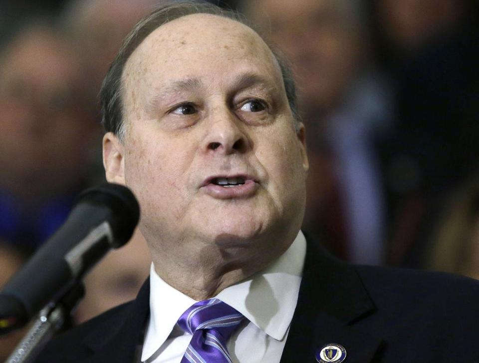 Senate President Stan Rosenberg should temporarily step aside from his leadership post.