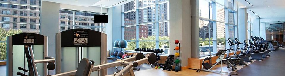 InterContinental Boston hotel health & fitness club