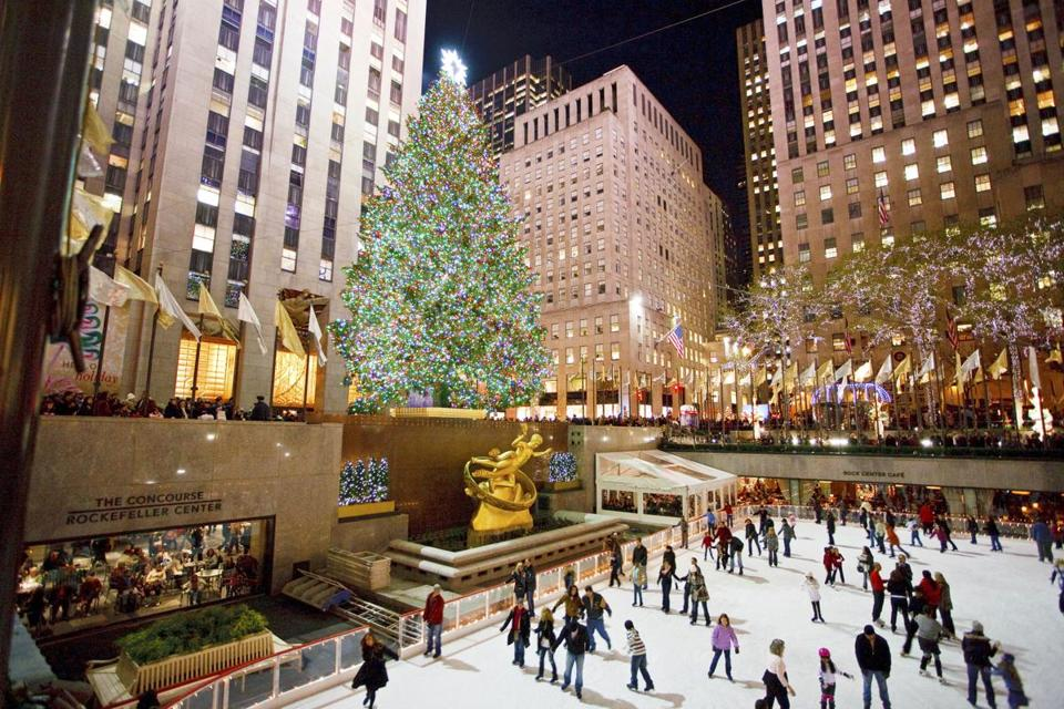 The Rockefeller Center tree is a classic holiday spot, but there are plenty of others.