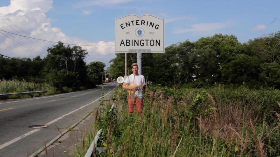 For three months this past summer, the Stow native traveled around Massachusetts to record the video.