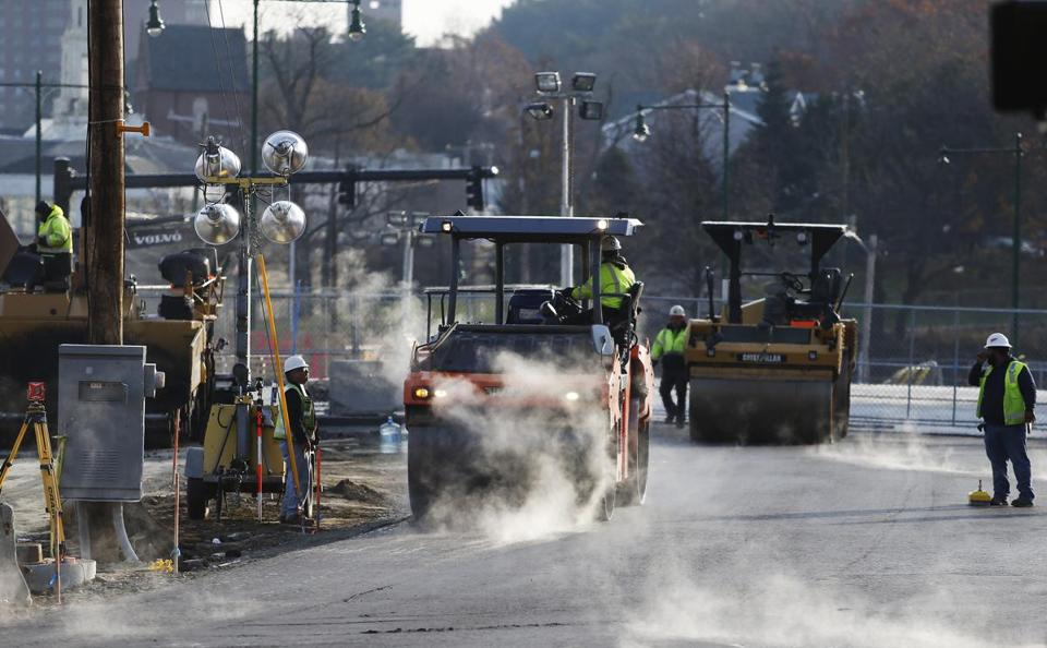 The $74 million project is creating a broad street-level boulevard through the middle of Forest Hills after the removal of an aging, dilapidated bridge known as the Casey Overpass.