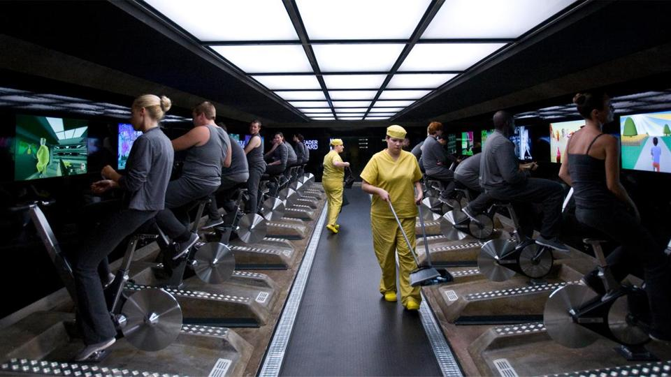 "Most of the grim near-futures on Netflix's ""Black Mirror"" are about technological developments that have crossed the line into darkness."