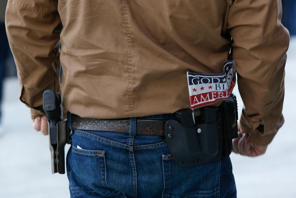 "The bill, which the National Rifle Association has called its ""highest legislative priority in Congress,"" would amend the federal criminal code to allow the concealed transport of handguns across state lines, so long as both states allow concealed carry."
