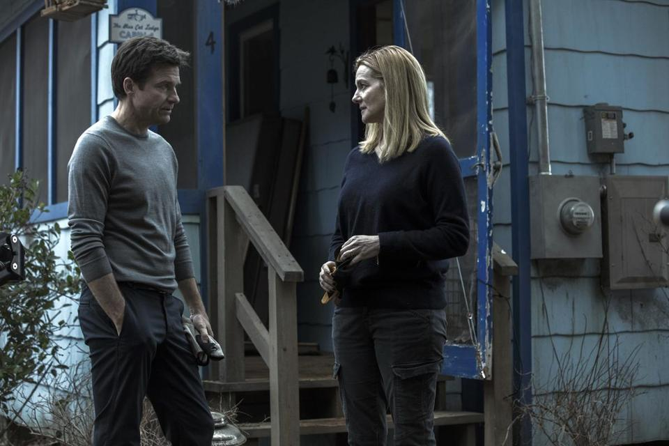 "Jason Bateman and Laura Linney in ""Ozark."""