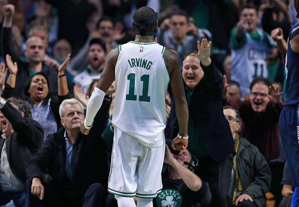 Kyrie Irving alone has given Celtics fans plenty to cheer about.
