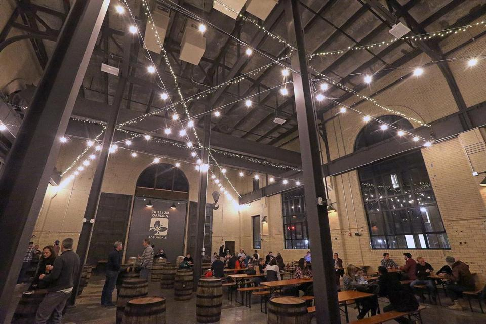 The Trillium Brewing winter beer garden in Roslindale is closing Sunday, March 25.