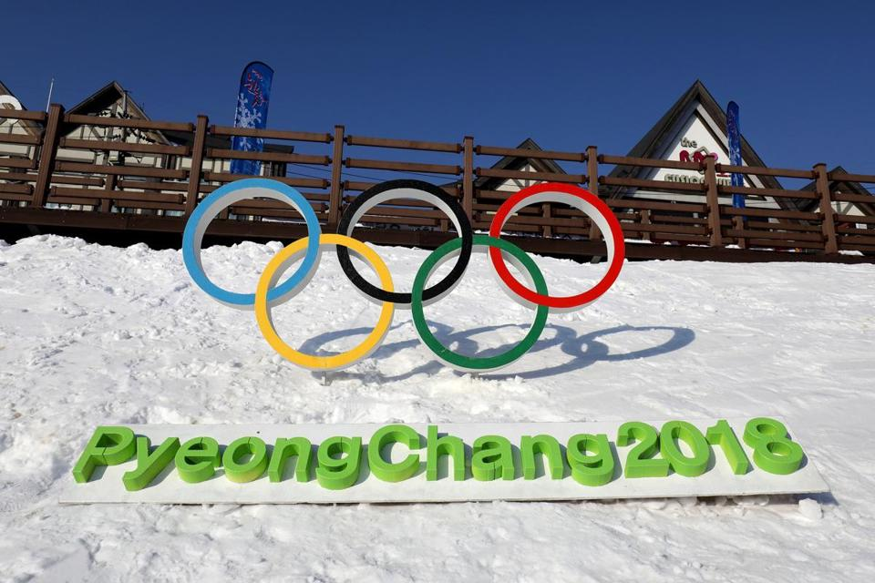 FILE - IOC Bans Russia from 2018 Winter Olympics PYEONGCHANG-GUN, SOUTH KOREA - FEBRUARY 4: The Olympic rings is seen in Hoenggye town, near the venue for the Opening and Closing ceremony ahead of PyeongChang 2018 Winter Olympic Games on February 4, 2017 in Pyeongchang-gun, South Korea. (Photo by Chung Sung-Jun/Getty Images)