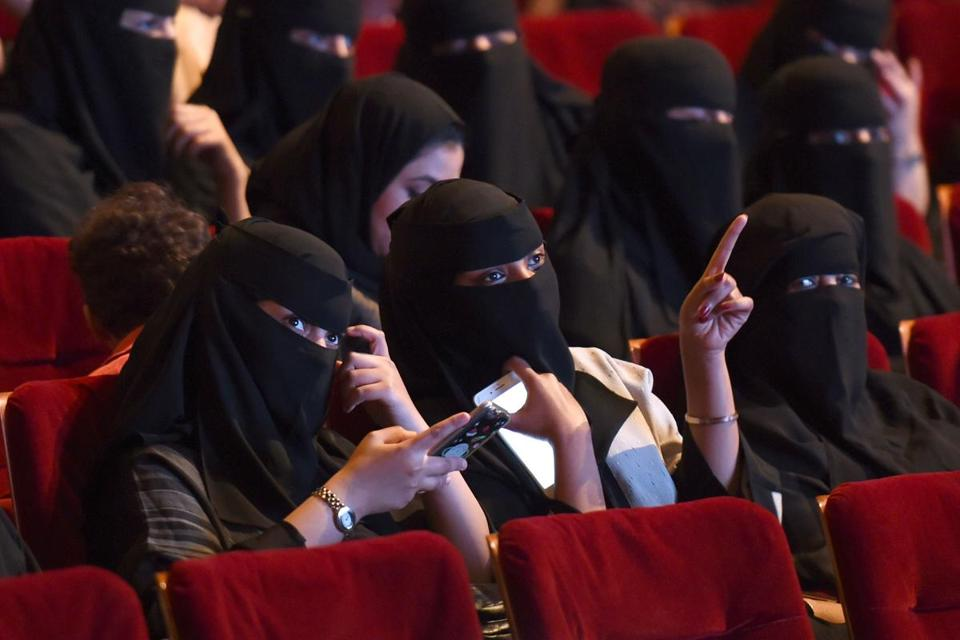 Last year, Saudi women attended a film festival after the lifting of a decades-old ban.