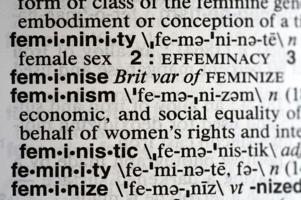 "The word ""feminism"" is Merriam-Webster's 2017 word of the year."