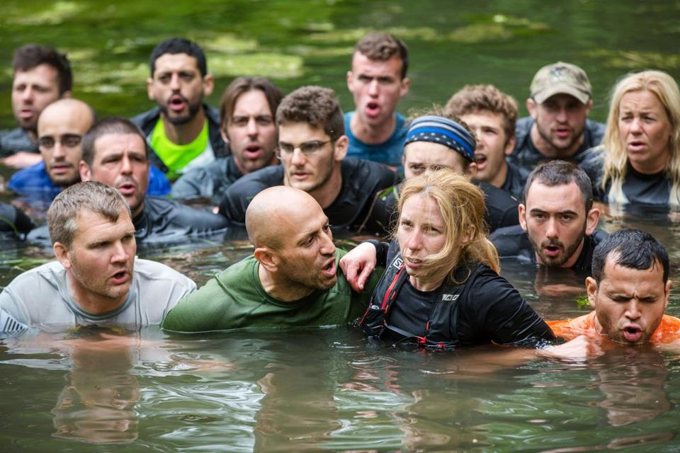 Spartan Agoge competitors in June in Pittsfield, Vermont.