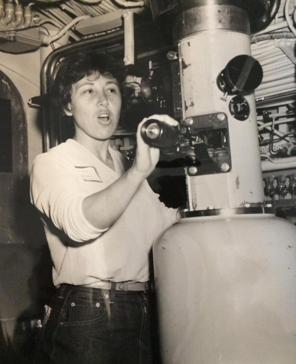 Ms. Negri's reporting and personal trips took her to many parts of the world, including in a submarine.