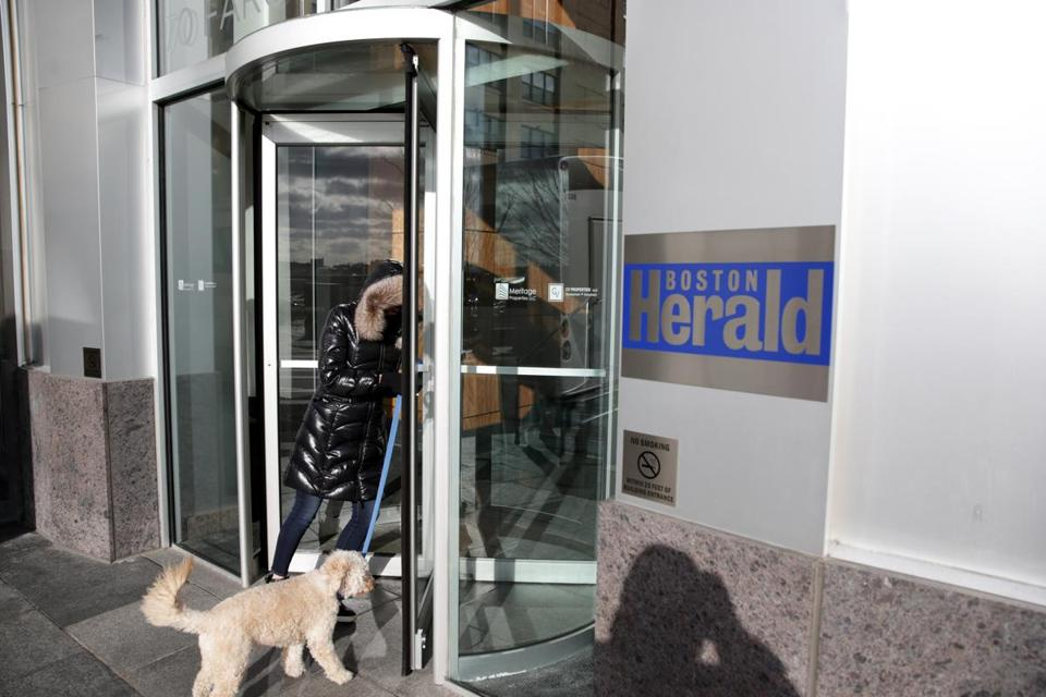 The Herald's offices are in the Seaport District.