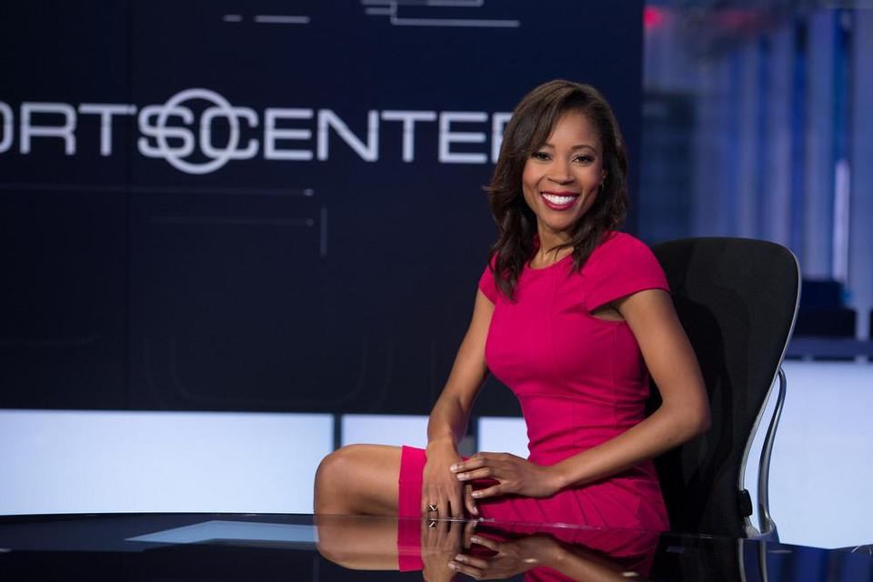 Adrienne Lawrence said ESPN retaliated against her, after she complained of harassment, by reducing her on-air shifts and ultimately denying her a permanent position.
