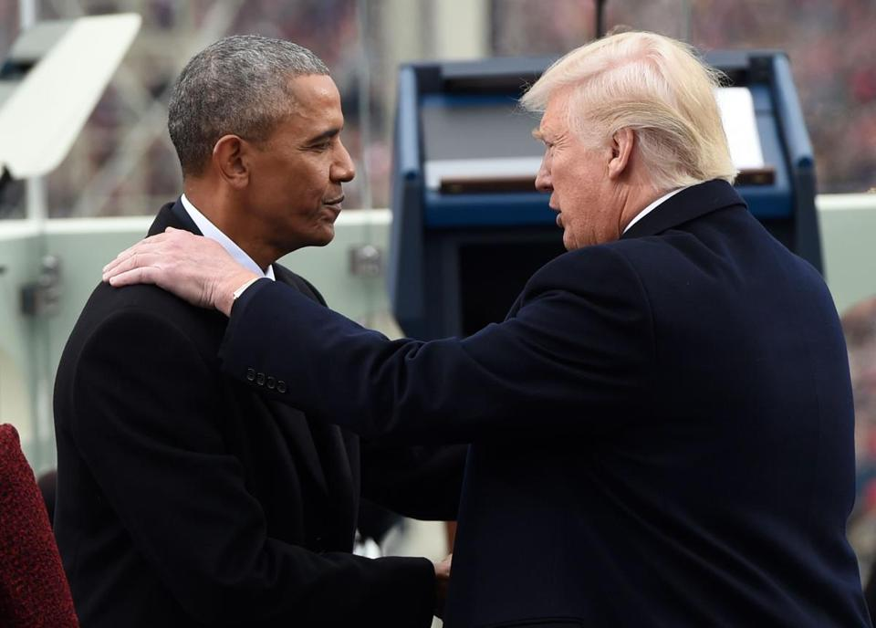 Analysts, backed by loads of anecdotal evidence, say President Trump's unconventional conduct has deepened the connection to Barack Obama for some.