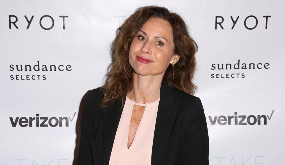 Actress Minnie Driver.
