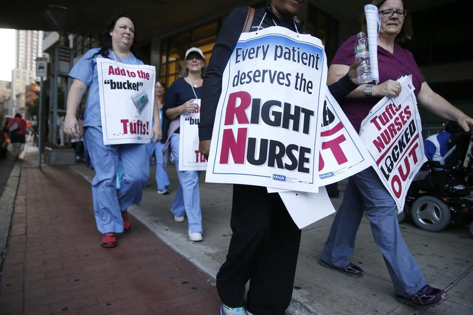 Tufts Reaches Contract Agreement With Nurses The Boston Globe
