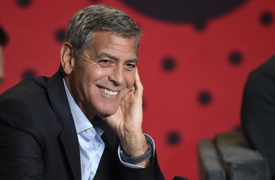 """George Clooney has been a Democratic fund-raiser and said the presidency """"sounds like fun."""""""
