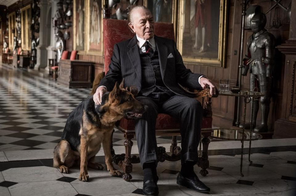 "Christopher Plummer as J. Paul Getty in ""All the Money in the World."""