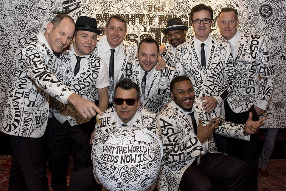 The Mighty Mighty Bosstones at last year's Hometown Throwdown.