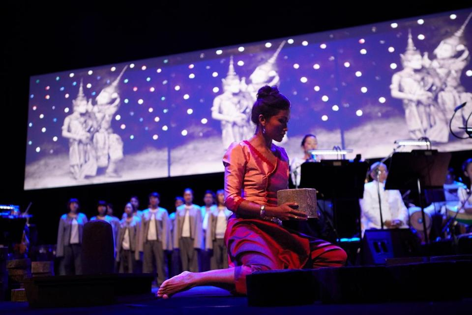 """Bangsokol"" honors the victims of the Cambodian genocide, which ravaged the Southeast Asian country from 1975 to 1979."