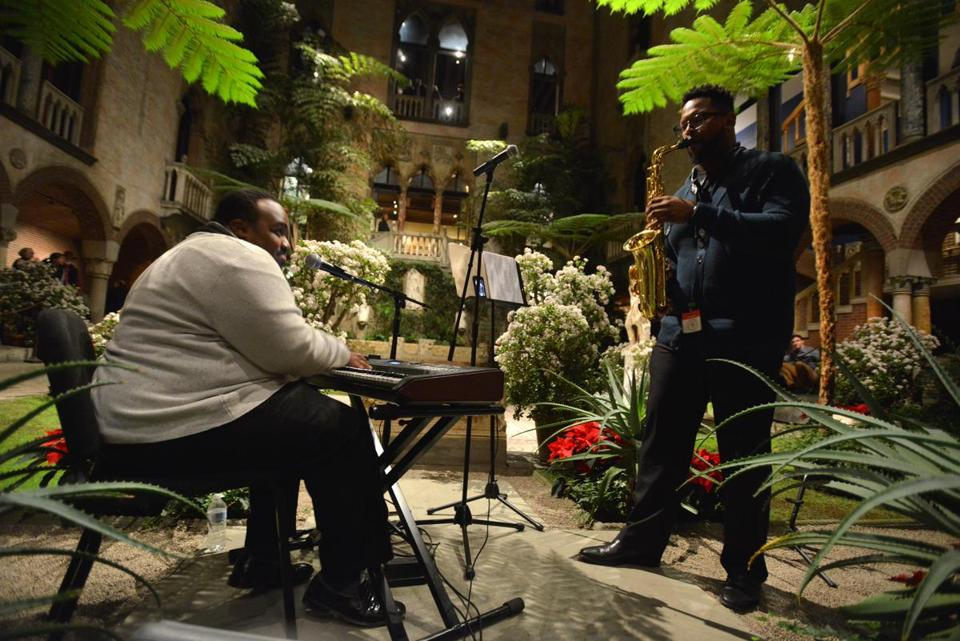 George Russell III and Tim Hall performed at the Gardner.