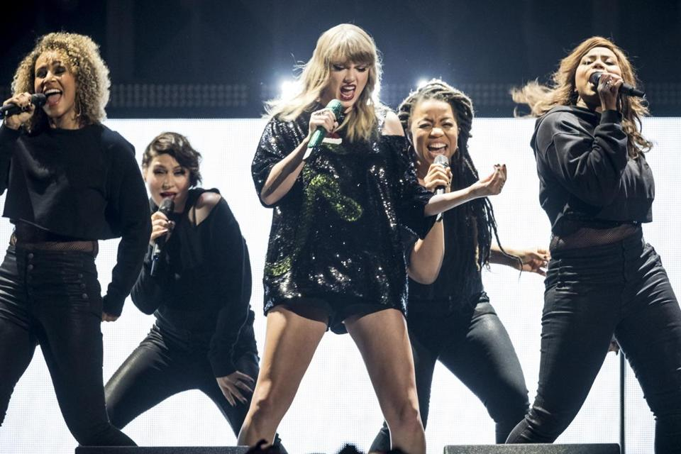 Taylor Swift is one of the few pop stars whose late-in-the-year releases can compete with streaming Christmas music.