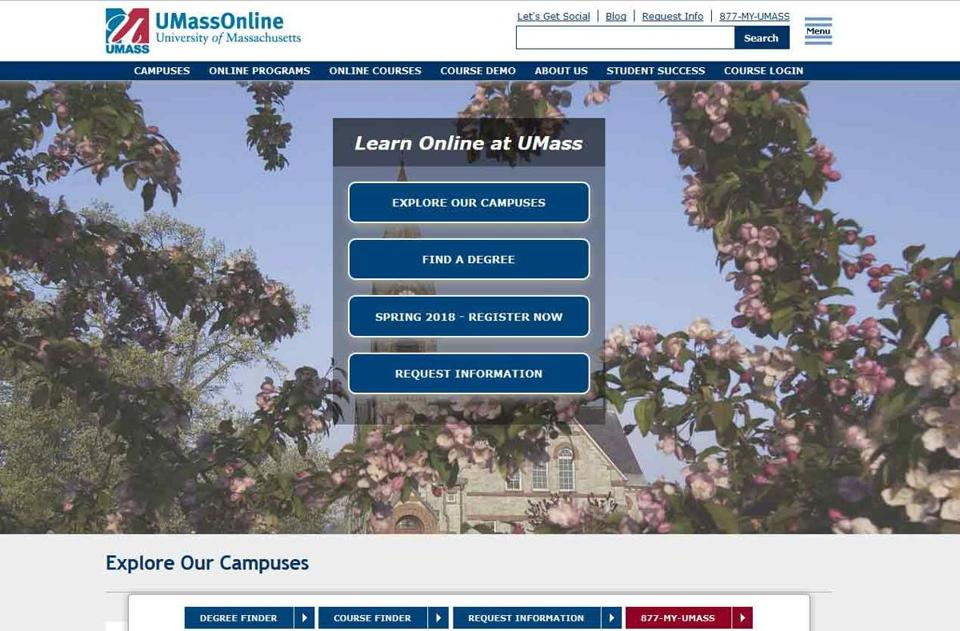 Umass Plans To Expand Online Education The Boston Globe