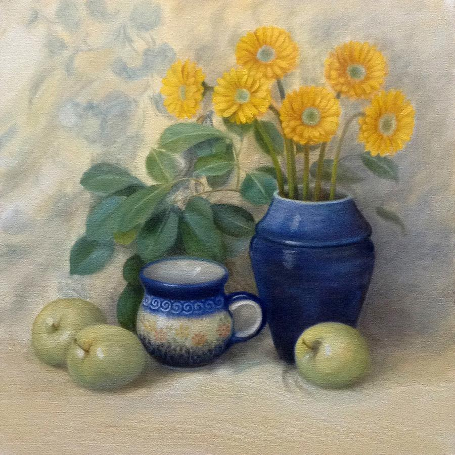 "31socalendar - ""Gerberas & Apples"" by Tatiana Roulin (South Street Gallery)"