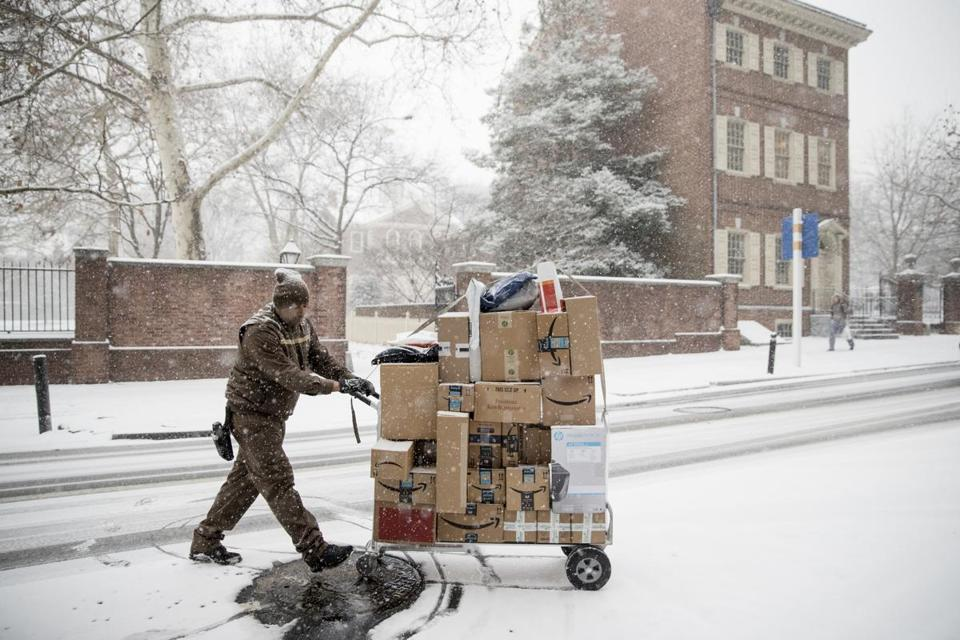 Delivery Services Getting High Marks For Holidays The Boston Globe
