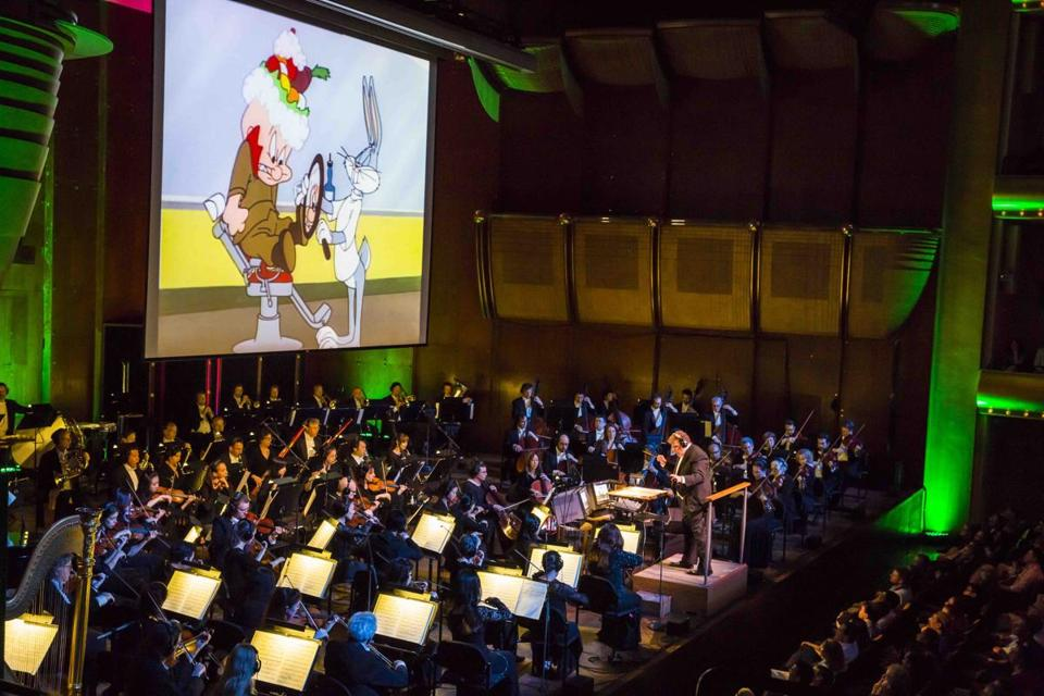 5/16/2015 -- New York City, NY: New York Philharmonic performs Bugs Bunny at the Symphony at Avery Fisher Hall. Photo by Chris Lee. 29Cartoon