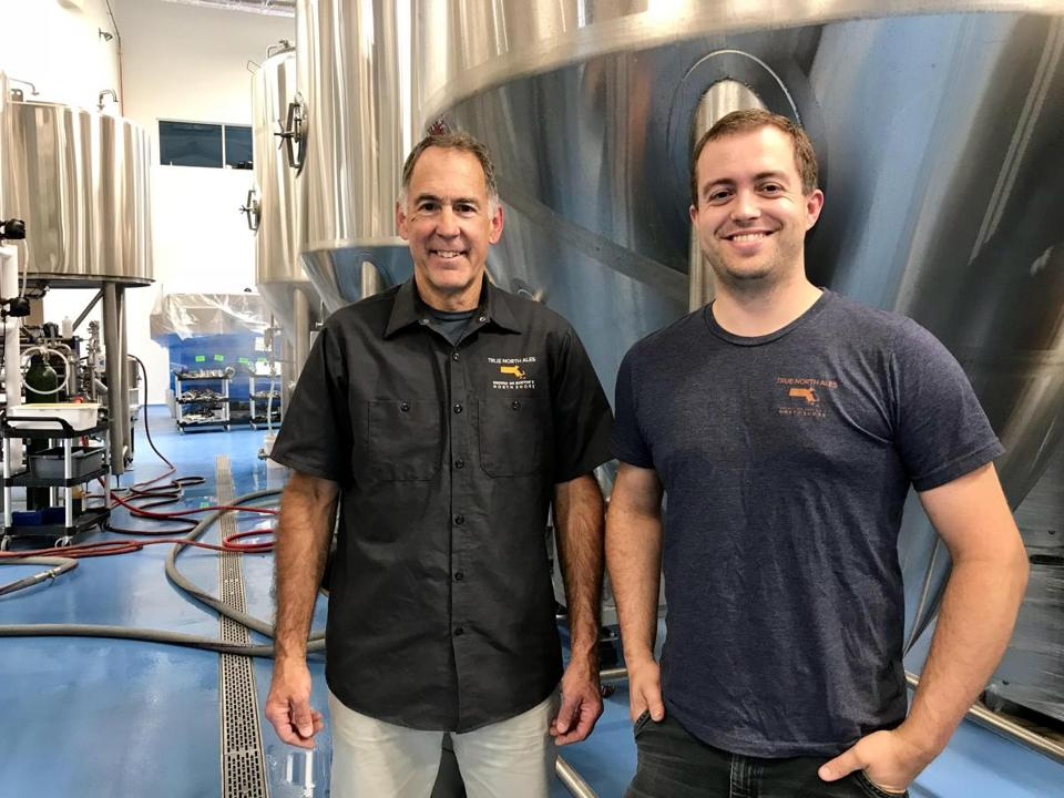 Gary Rogers and son Jake are the founders of Ipswich's True North Ale Co.