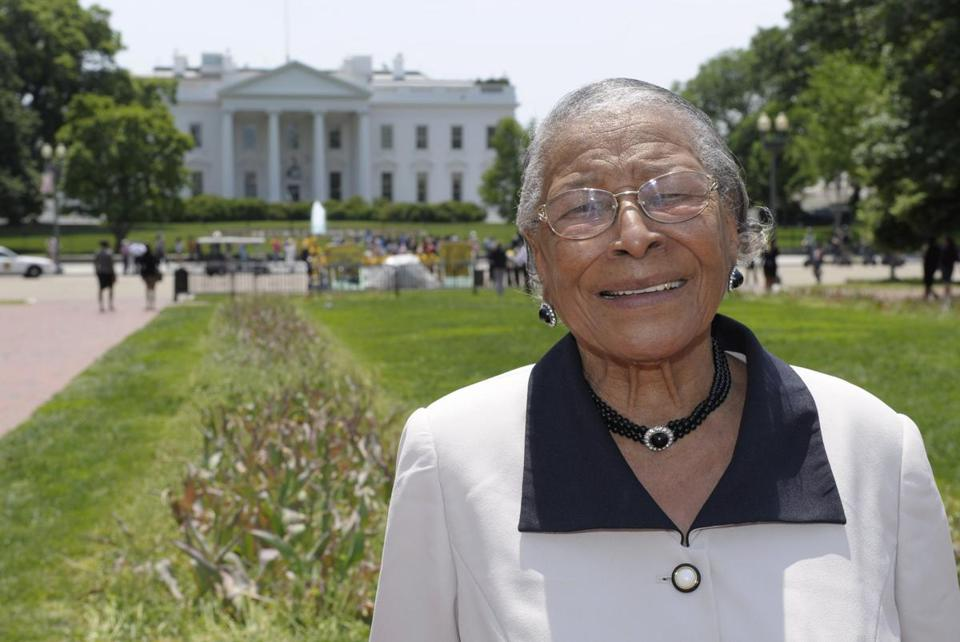 Mrs. Taylor toured the White House in 2011. She was attacked by six white men in Alabama in 1944. The attack never went to trial.