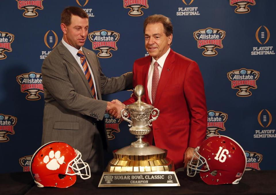 Familiar Title Foes Meet Again This Time In College Football