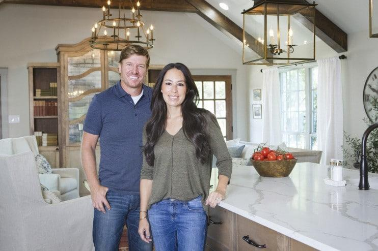 "Chip and Joanna Gaines, stars of ""Fixer Upper."""
