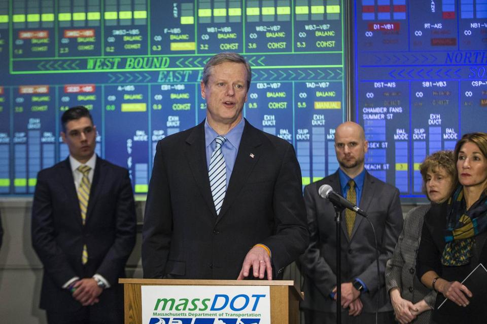 Governor Charlie Baker has appointed an 18-member transportation panel after a report last year suggested Massachusetts is not financially prepared for changes to the climate and how people get around.