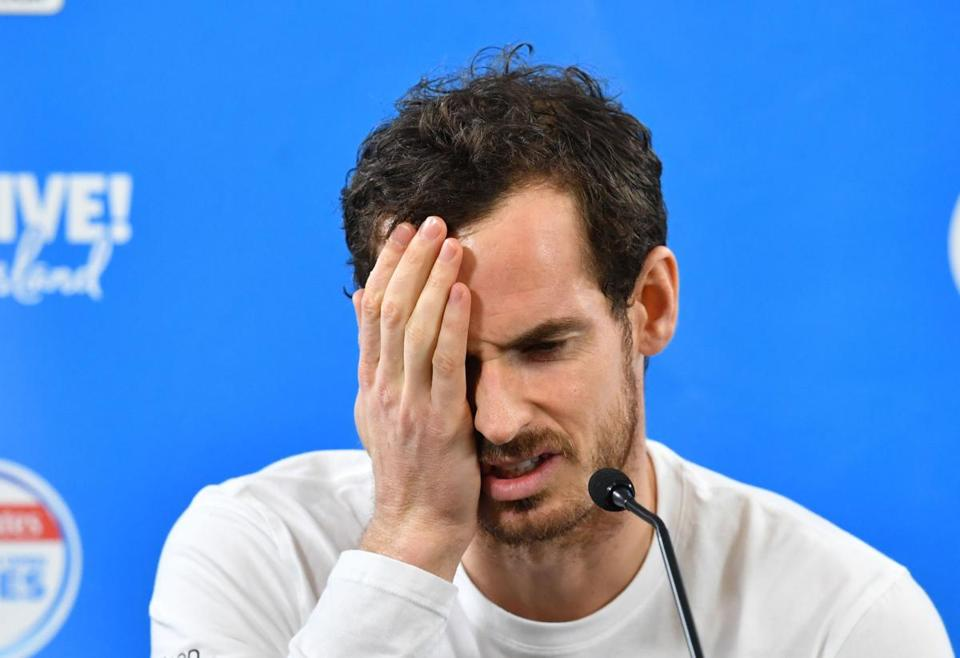 Andy Murray is considering hip surgery after withdrawing from the Brisbane International.