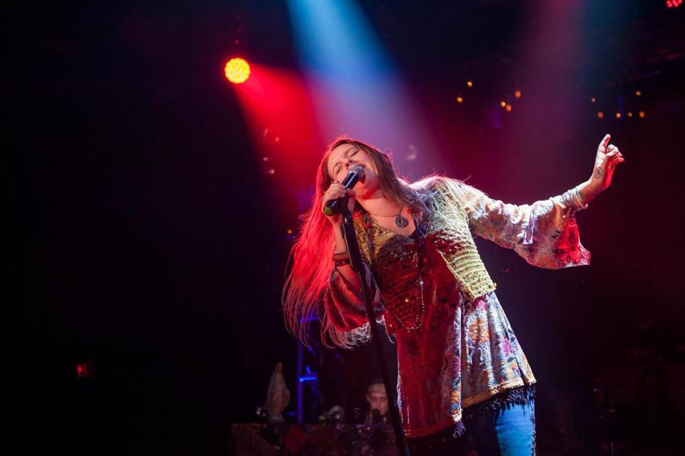 "Kelly McIntyre stars in ""A Night With Janis Joplin."""