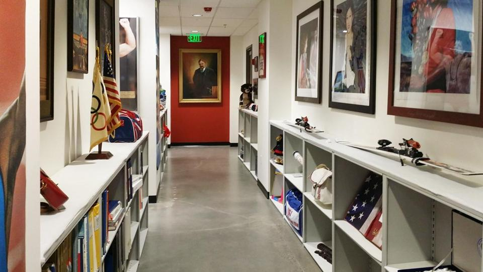 US Olympic archives in Colorado.