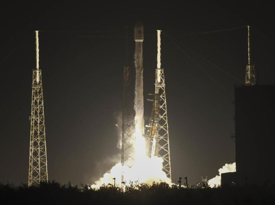 The SpaceX rocket launched Saturday from Cape Canaveral, Fla.