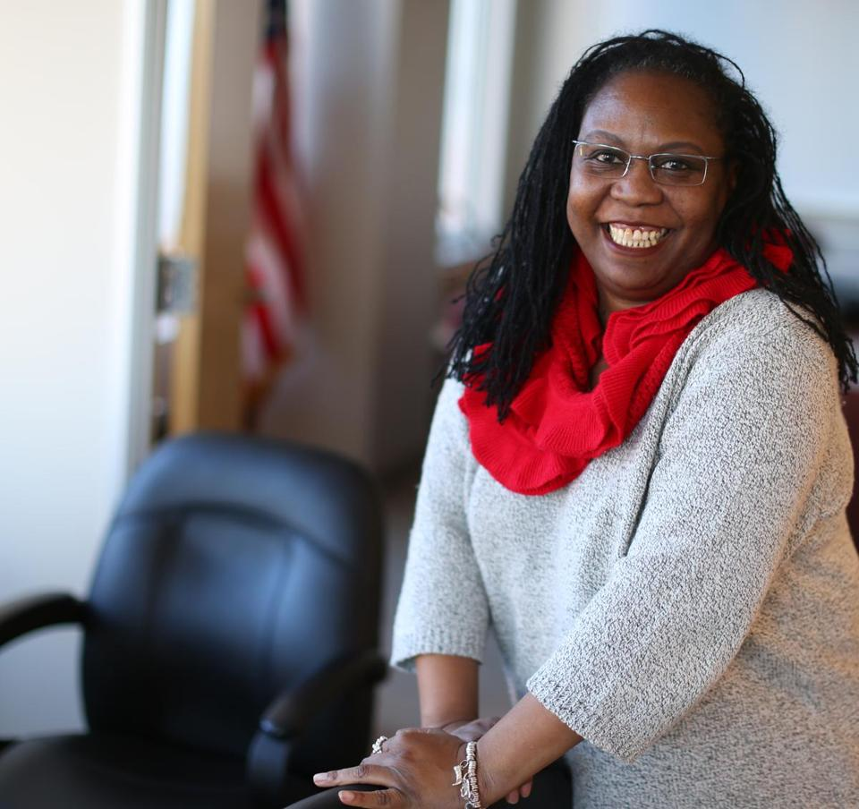 Chrystal Kornegay is the the first woman and the first person of color to lead the quasi-public MassHousing agency.