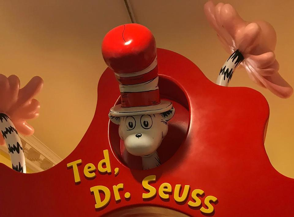 The Amazing World of Dr. Seuss Museum is filled with hands-on exhibits, murals, and beloved characters.