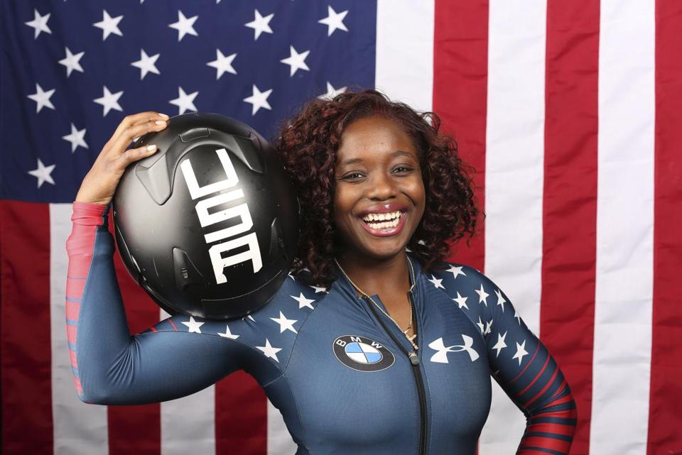 Kehri Jones was recruited to the US bobsled team by Elana Meyers Taylor.