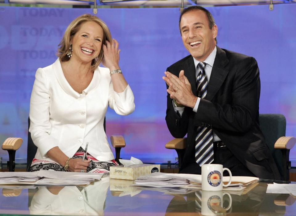 "Couric and Lauer co-hosted ""Today"" from 1997 to 2006."