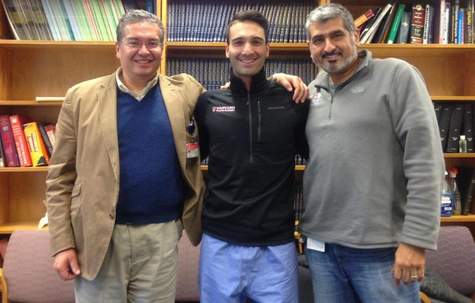 From left: Ken Rodriguez, Arman Serebrakian, and Ara Nazarian.