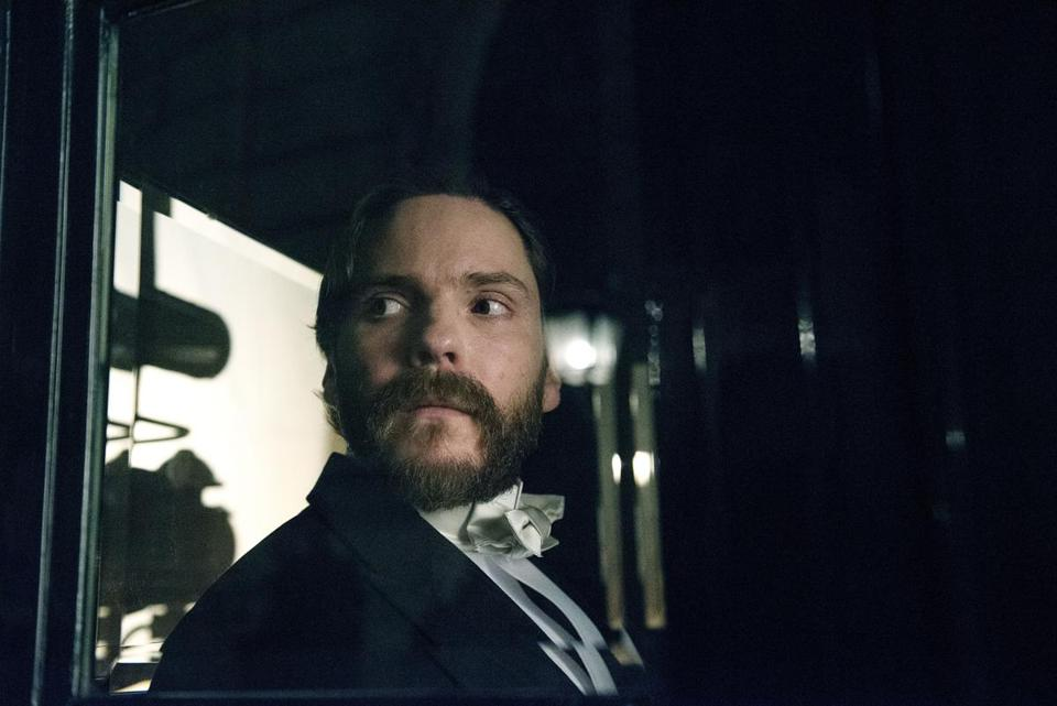 "Daniel Bruhl stars as a 19th-century psychologist on the trail of a serial killer in ""The Alienist."""