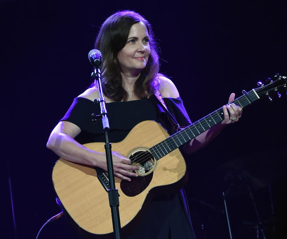 Lori McKenna performs at the Church of the Covenant on Jan. 25.