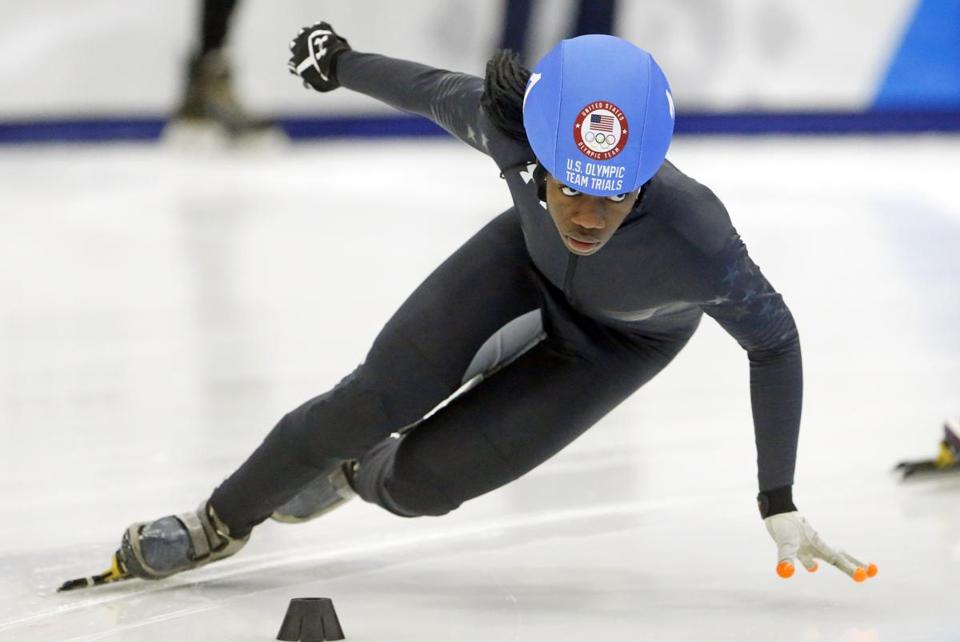 Maame Biney began skating when she was 6 years.